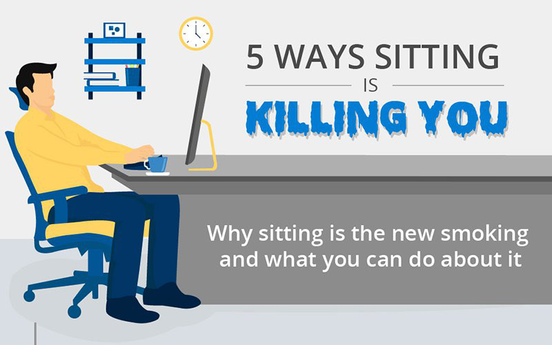 5 Ways Sitting Could be Killing You