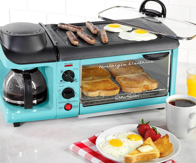 All-In-One Breakfast Cooking Station - Cool Stuff to Buy ...