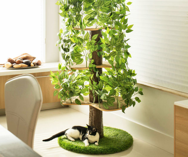 Indoor Cat Tree House Cool Stuff To Buy Online The Internet S Mall Of Unique Gifts And Gadgets