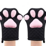 cat paw oven mitts