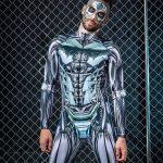mens robot costume etsy badinka