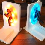 LED Portal Bookends