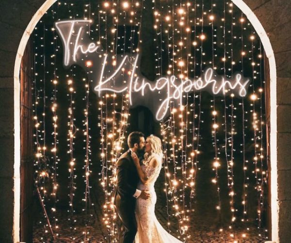 Personalized Neon Wedding Signs