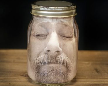 personalized your face in a jar